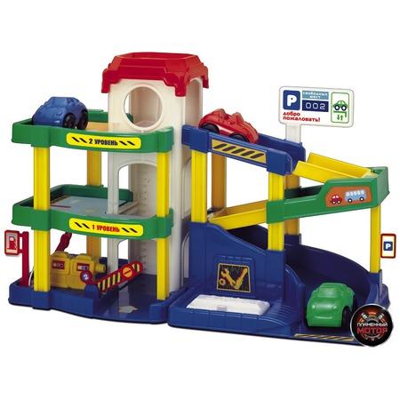 Купить Набор игровой для мальчика Пламенный Мотор «Паркинг. Автогородок»
