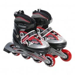 Купить Детские роликовые коньки ATEMI AJIS-02. Размер: 27-30. Уцененный товар