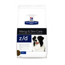 фото Корм сухой диетический для собак Hill's Z/D Ultra Prescription Diet Canine. Вес упаковки: 3 кг