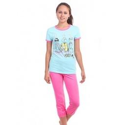 фото Комплект домашний для девочки Свитанак 206437. Рост: 158 см. Размер: 42