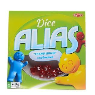 Купить Игра настольная для компании Tactic Alias с кубиками