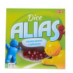 фото Игра настольная для компании Tactic Alias с кубиками