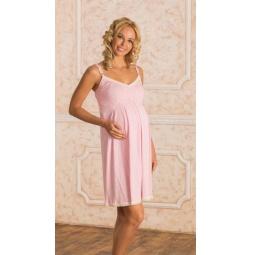 Купить Сорочка для беременных Nuova Vita 902.1. Цвет: розовый