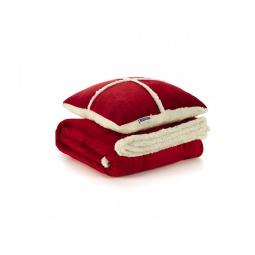 Купить Набор Dormeo Warm Hug: декоративная подушка и плед