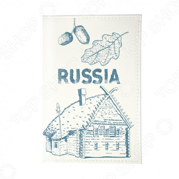 Визитница Mitya Veselkov «Русская изба» изба фасад 135 1000x600x50 4шт