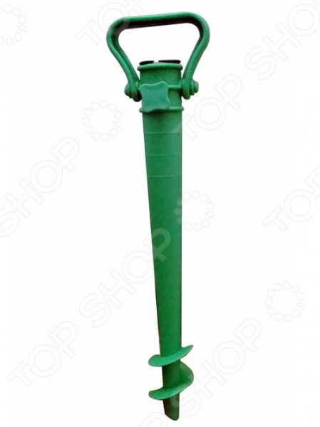 Подставка для крепления зонта в песке Boyscout 61180Зонты садовые и пляжные<br>Подставка для крепления зонта в песке Boyscout 61180 станет отличным дополнением к набору ваших туристических принадлежностей и позволит надежно закрепить в песке пляжный зонт. Изделие имеет коническую форму, выполнено из высокопрочных материалов и снабжено винтовым наконечником и зажимом для зонта.<br>