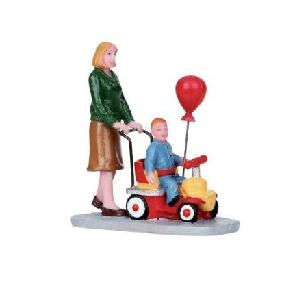 Купить Фигурка керамическая Lemax «Мама везет малыша на каталке»
