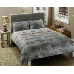 фото Комплект постельного белья TAC Britan. 1,5-спальный. Цвет: серый