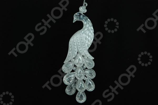 Елочное украшение Crystal Deco «Павлин»