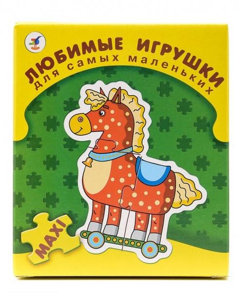 Пазл для малышей Дрофа «Любимые игрушки»