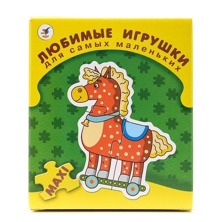 Купить Пазл для малышей Дрофа «Любимые игрушки»