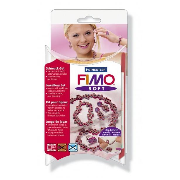 фото Набор для создания украшений Fimo Soft «Романтика»