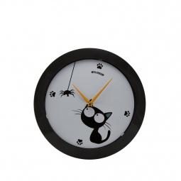 фото Часы настенные Mitya Veselkov «Кошка и паучок»