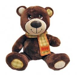 фото Мягкая игрушка Fluffy Family «Мишка Тепа с шарфом» 681147