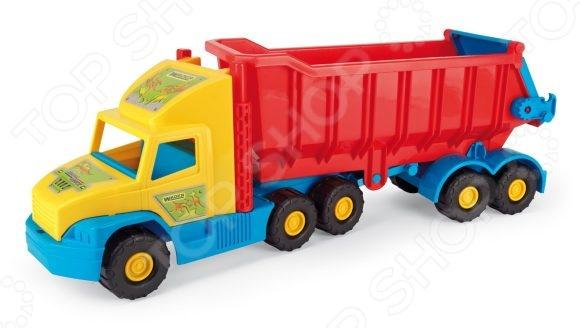 Машинка на пульте управления Wader «Грузовик» Super Truck грузовик pilsan delta truck цвет зеленый 06 506