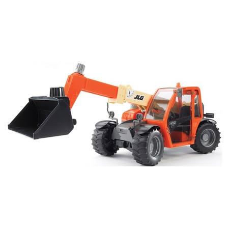 Купить Погрузчик игрушечный Bruder колесный JLG 2505 Telehandler