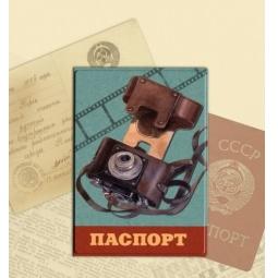фото Обложка для паспорта Феникс-Презент «Фотоаппарат»