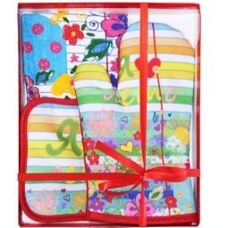 фото Комплект кухонный подарочный BONITA «Настроение. Каникулы»