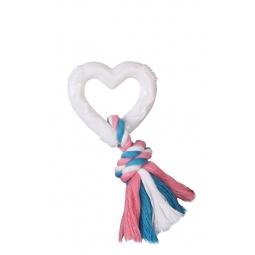 Купить Игрушка для собак DEZZIE «Сердце с веревкой»
