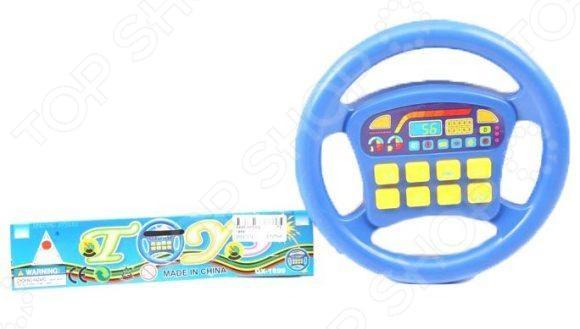 Руль игрушечный Shantou Gepai 1899 - красочная и яркая модель, которая обязательно понравиться вашему малышу. Игрушка отлично подходит для сюжетно-ролевых игр, в которых ребенок сможет представлять себя в роли водителя. Модель оснащена звуковыми эффектами, позволит значительно разнообразить игровой процесс и сделать его еще более интересным и увлекательным.