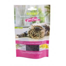 фото Лакомство для кошек TiTBiT 5132 «Вяленые кусочки печени говяжьей»