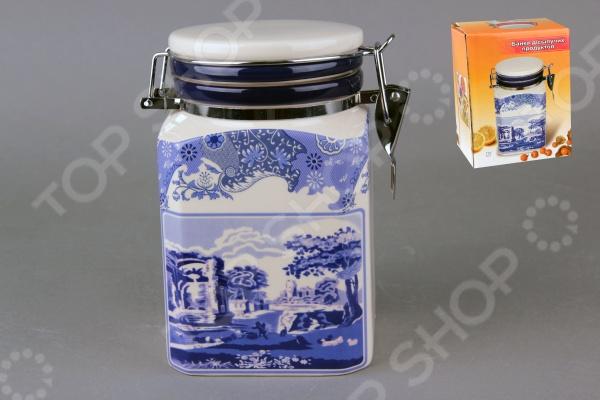 фото Банка для хранения сыпучих продуктов Коралл HC5D38-K9 «Старый замок», Хранение продуктов
