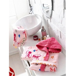 фото Халат с полотенцами детский TAC Winx believix. Возрастная группа: от 6 до 8 лет