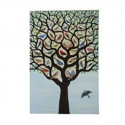 фото Обложка для паспорта Mitya Veselkov «Дерево с птичками»