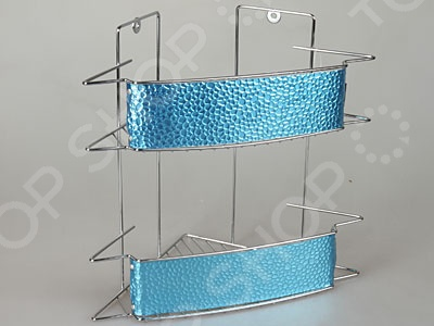 Полка для ванны угловая Rosenberg 7564Полки для ванной<br>Полка для ванны угловая Rosenberg 7564 отличается стильным дизайном и прекрасным качеством исполнения. Она отлично впишется в интерьер ванной комнаты и подойдет для хранения мыла, шампуней, тюбиков с кремом, подставок для зубных щеток, мочалок и т.д. Модель выполнена из высокопрочных материалов и снабжена двумя полками с ограничителями.<br>