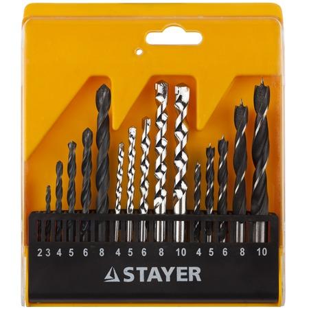 Купить Набор сверл комбинированных Stayer Standard 29720-H16