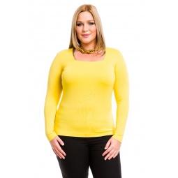фото Кофта Mondigo XL 7014. Цвет: желтый. Размер одежды: 48
