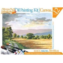 Купить Набор для живописи масляными красками EasyArt №4 «Сельский пейзаж»
