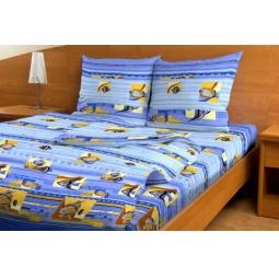 фото Комплект постельного белья с водорослями Матекс «Морская фантазия» и одеяло. 1,5-спальный
