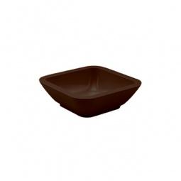 фото Миска Zak!designs «Идеальная форма». Цвет: коричневый. Размер: 9х9 см