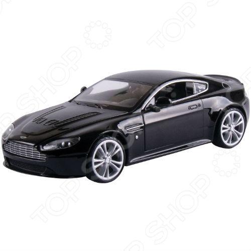Модель автомобиля 1:24 Motormax Aston Martin V12 Vantage welly модель машины 1 24 aston martin v12 vantage welly