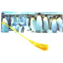 фото 3D-закладка для книг Липуня «Пингвины»