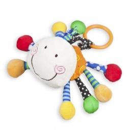 фото Мягкая игрушка развивающая Жирафики «Паучок»
