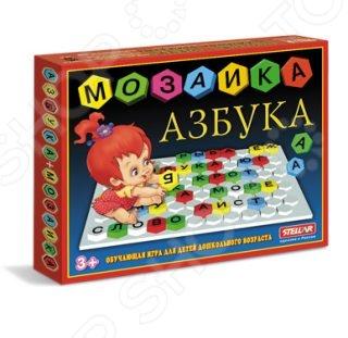 Мозаика Стеллар «Азбука»Мозаика<br>Мозаика Стеллар Азбука простая мозаика для развития сообразительности, она станет прекрасным подарком для вашего малыша. Это отличное дидактическое пособие, которое поможет ребенку освоить азбуку с ранних лет, выкладывая на игровом поле слова. Оригинальная конструкция платы со специальными зацепками в каждом отверстии позволяет легко вставлять и фиксировать детали.<br>