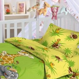 Купить Детский комплект постельного белья Облачко «Джунгли»