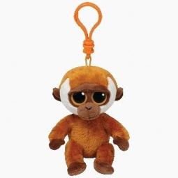фото Мягкая игрушка с клипсой TY Горилла BONGO. Высота: 12,5 см