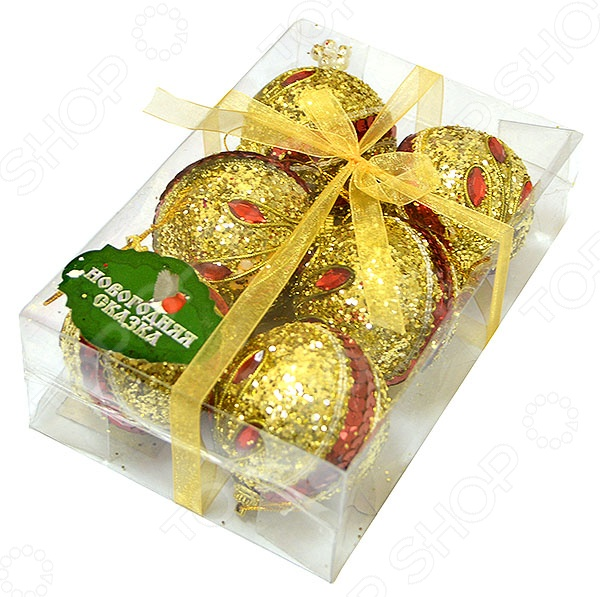 Набор новогодних шаров Новогодняя сказка 972172