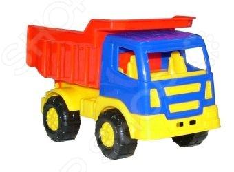 Машинка игрушечная Полесье «Самосвал Салют» машинка игрушечная dickie самосвал man airpump