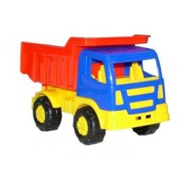 фото Машинка игрушечная Полесье «Самосвал Салют»