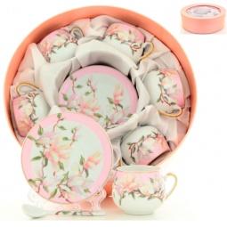 фото Кофейный набор Elan Gallery «Орхидея на розовом»