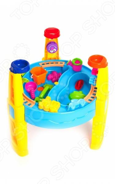 Столик игровой с набором формочек Bradex «Счастливый карапуз»