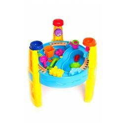 Купить Столик игровой с набором формочек Bradex «Счастливый карапуз»