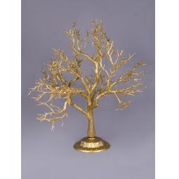 фото Дерево декоративное Holiday Classics «Искристое». Цвет: золотистый