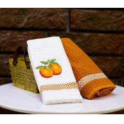 фото Комплект из 2-х кухонных полотенец Mariposa Orange