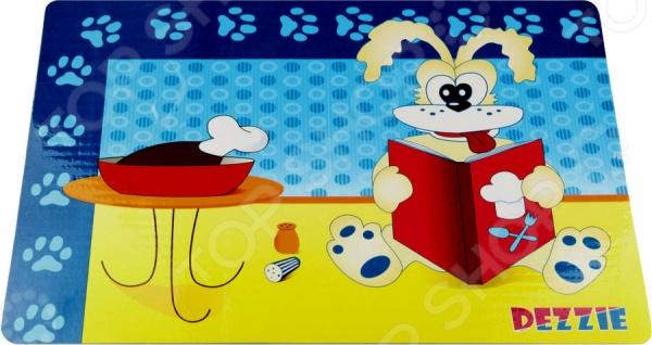 Коврик под миску для собак DEZZIE «Кулинар» трикси коврик под миску 44х28 см серый
