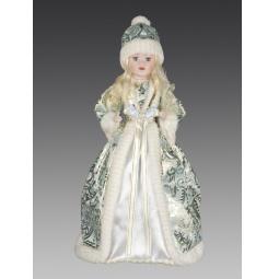 фото Кукла под елку Holiday Classics «Снегурочка. Бирюзовая парча» 1709398